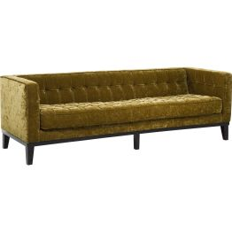 Sofa: Opulenter 3-Sitzer im Vegas Stil Welcome to the fabulous Las Vegas! Ein Traum von einem Sofa mit dem Charme der großen Casinos