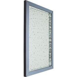 Spiegel: Touched by the Rain Für diesen Spiegel boten Regentage Inspiration. Jeder Regenschauer nutzt Fensterscheiben als Leinwand