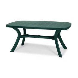 Gartentisch Kansas - Kunststoff - Grün