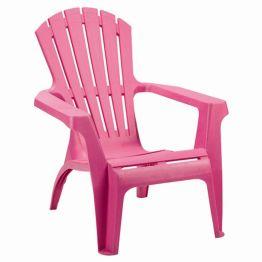 Deckchair Dolomiti II - Kunststoff - Pink