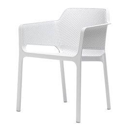Gartensessel Ohio Plast - Kunststoff - Weiß