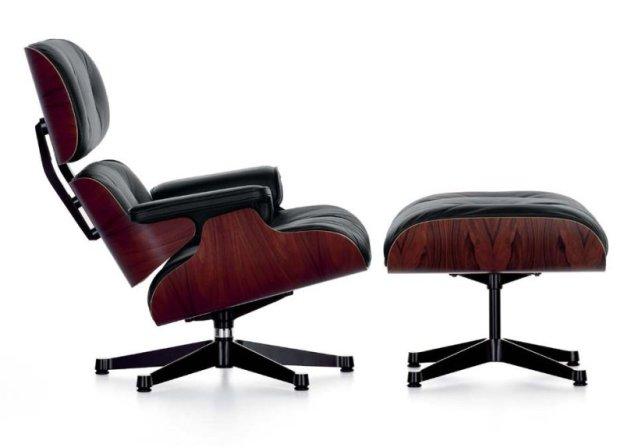 Vitra Lounge Chair - Ottoman