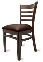 Gastro Stuhl Nanni Sitz in braun günstig kaufen   Möbel Star