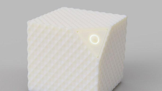 Socle et capteur de vibrations (détail)