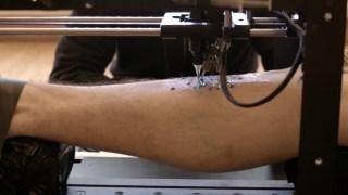 3D PRINTER X TATTOO MACHINE