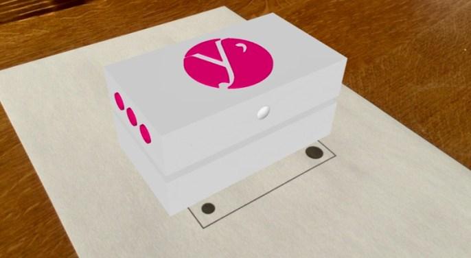 Hippocad projet DomYcile-Prototype en réalité augmentée