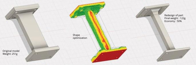 Shape optimisation service
