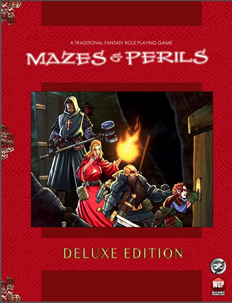 Mazes & Perils Deluxe - Front Cover