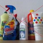 chemische schoonmaakmiddelen