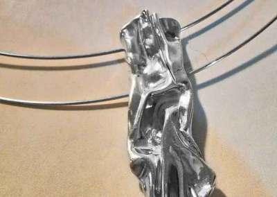 COLLANA ENERGIA DI TERRA (argento 1)