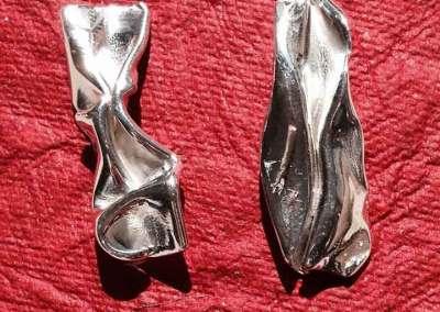 ORECCHINI ENERGIA DI TERRA (argento 1)