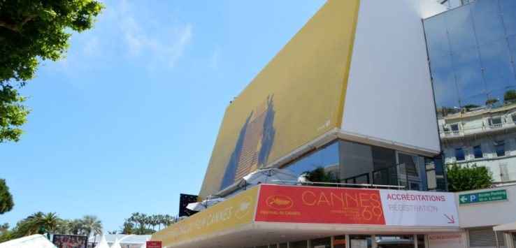 Entrance to the Cannes Film Festival