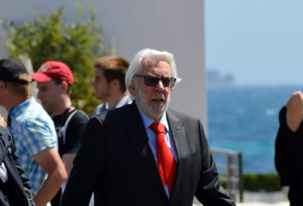 Donald Sutherland and the Cannes Film Festival