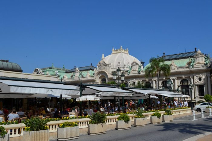 Cafe de Paris in Monaco
