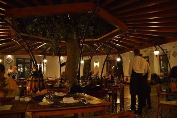 Artist dinner at Adega Restaurant