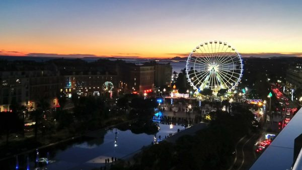 Nice France Ferris Wheel