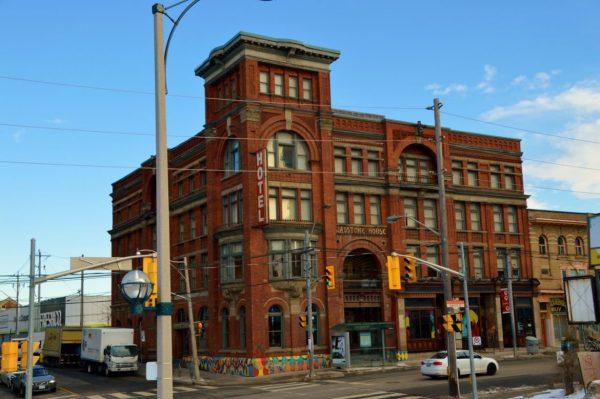 Exterior of the Gladstone Hotel Toronto
