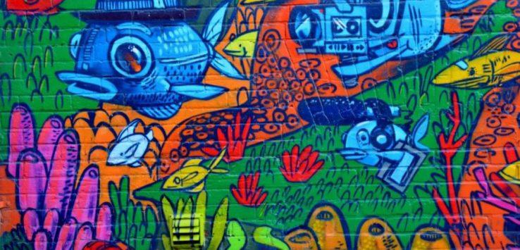 Grafitti Alley in Toronto