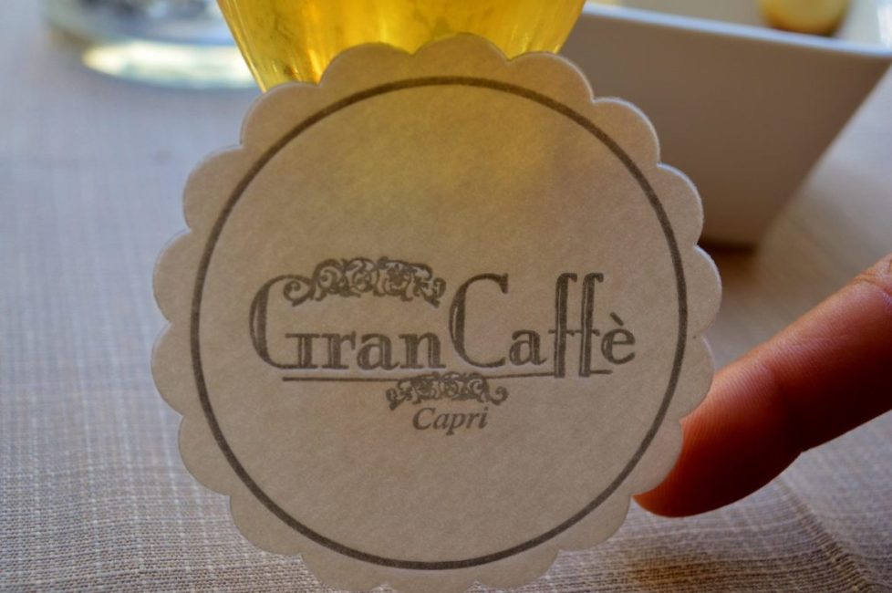The Gran Cafe in Piazza Umberto I is a must stop on Capri.