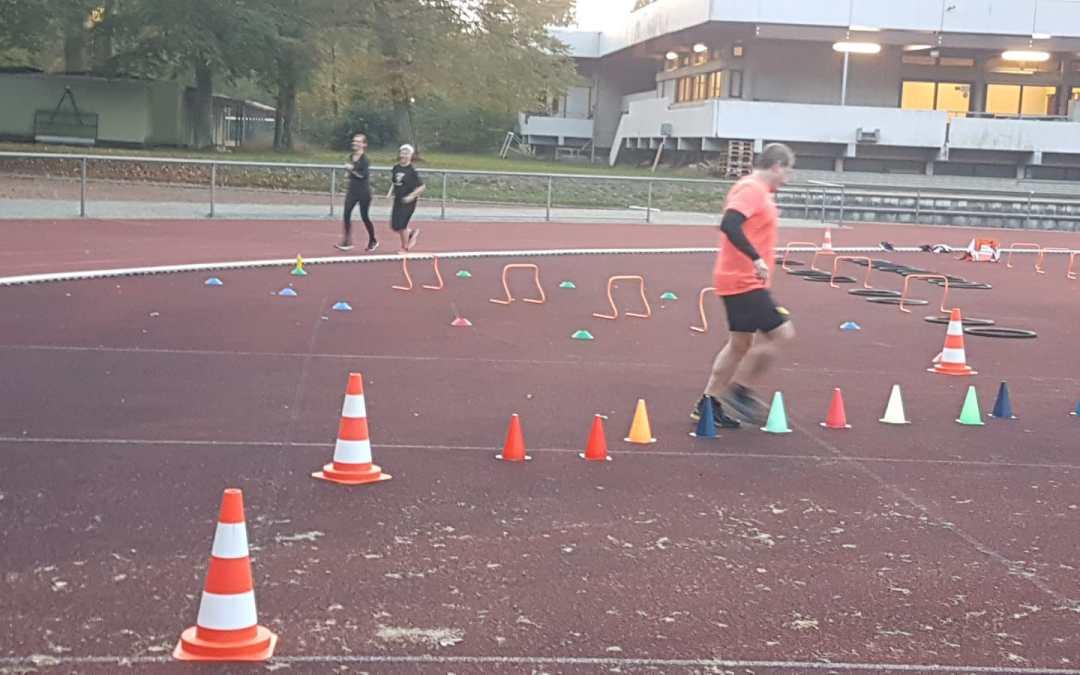Spielplatz für Triathleten? Auch, aber Koordination und Sprungkraft ist alles beim Laufen.