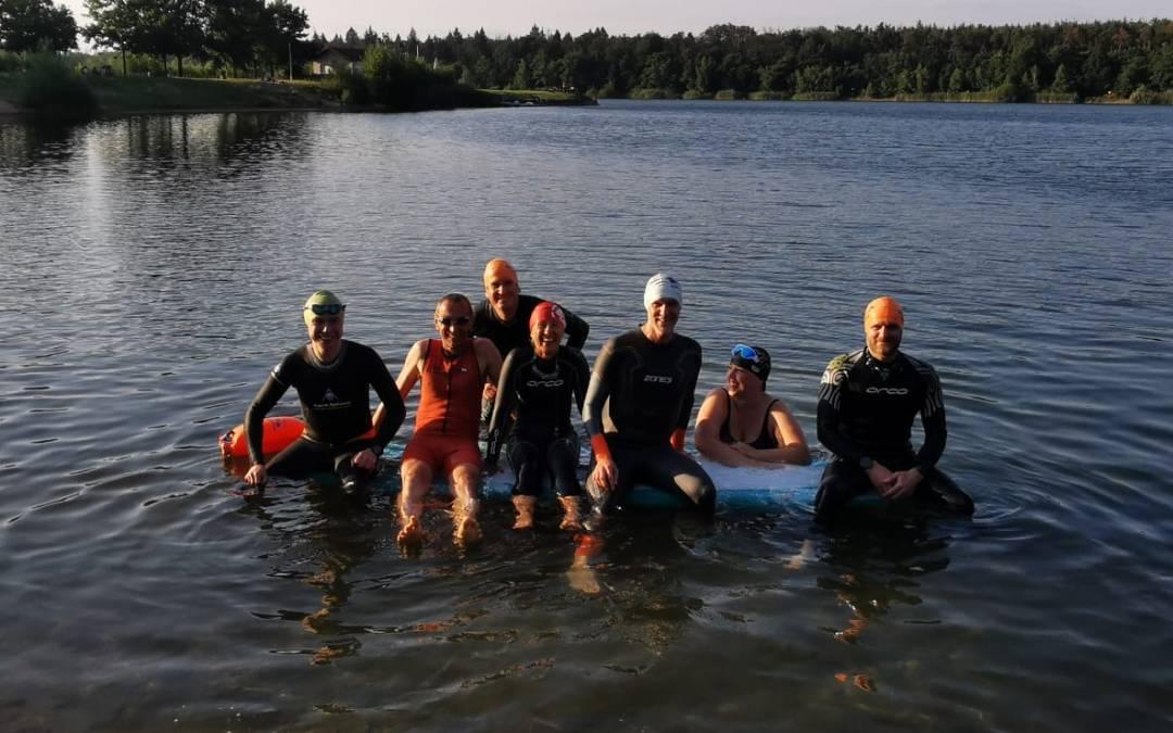 Trotz Organisation des 12. Ksp MöWathlon – Schwimmtraining muss sein!