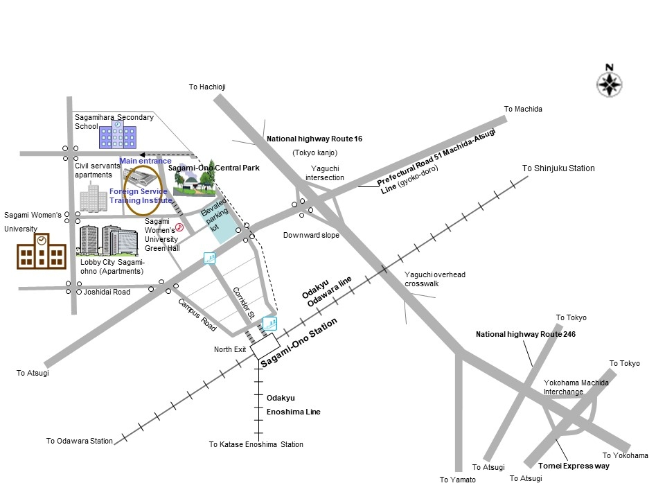 Location Ministry Of Foreign Affairs Of Japan