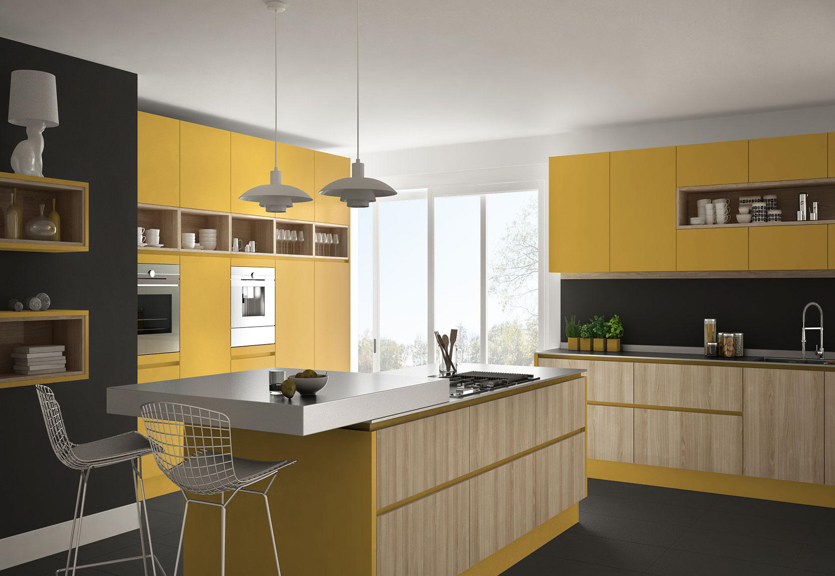 Modular Kitchen Designs For Small Kitchens