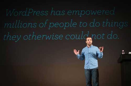 WordPress Lead Developer Andrew Nacin. Photo by Vladimir Kaladan Petkov