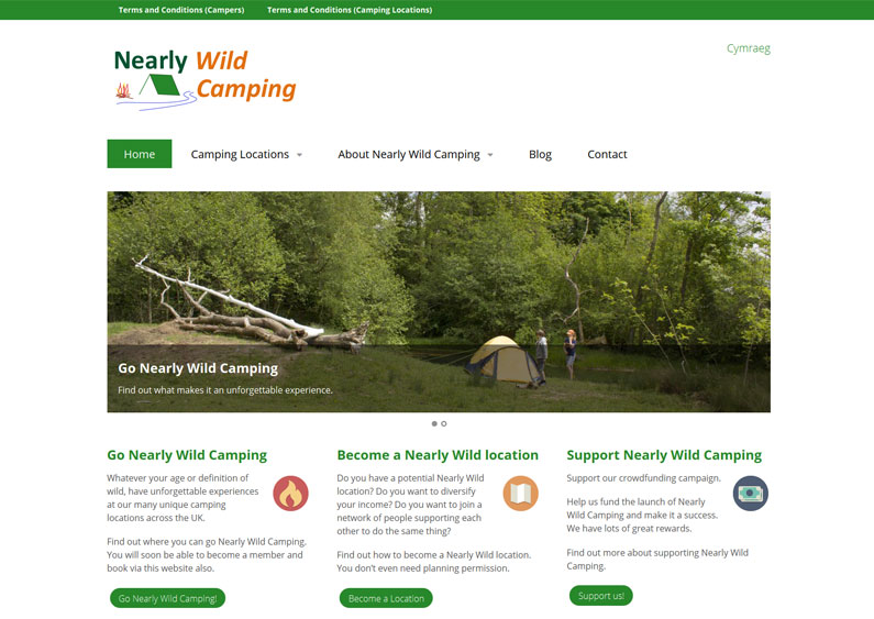 Nearly Wild Camping