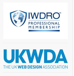 IWDRO and UKWDA badges