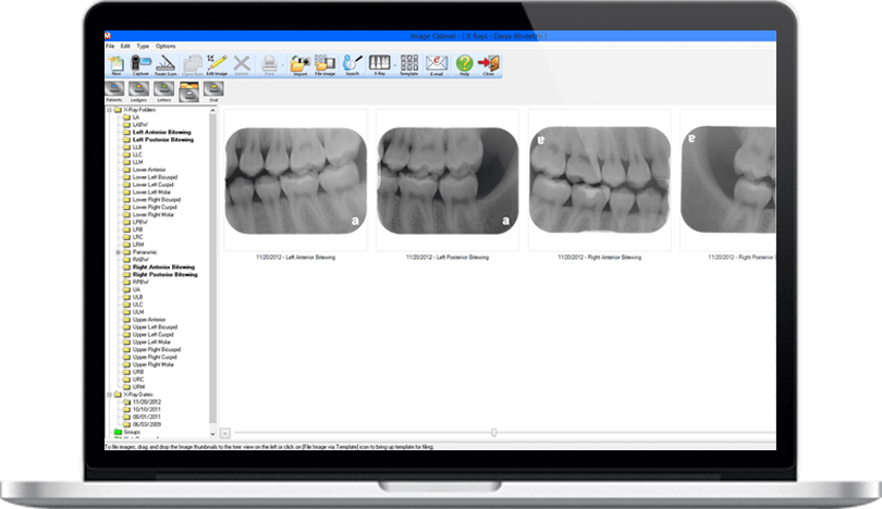 organized imaging system in Dental Practice Management Software