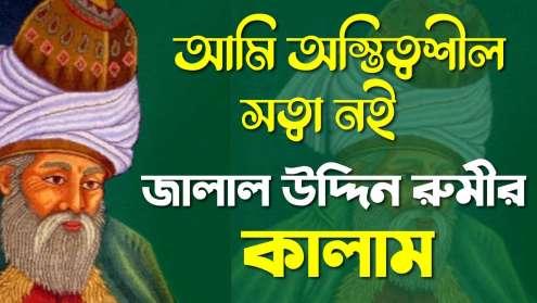 জালাল উদ্দিন রুমির কবিতা