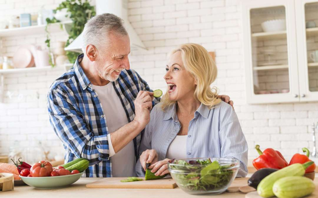Good Food for Old Person-Nutrition needs when you're over 65