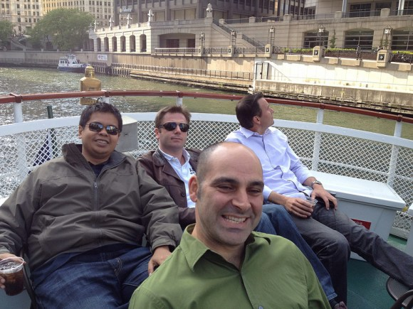 Me and my colleagues..