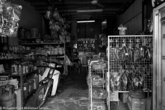 Typical shop that we see in places like Kerling. Small and run by a family that's pretty old. I bet the children are in KL doing some awesome business.