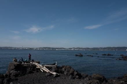 More of the sea (actually the bay)