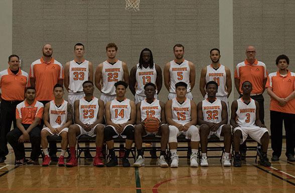 US Navy Men's team vs Men's varsity basketball | Mohawk ...