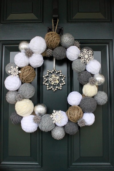 Winter Wreaths - DIY winter wreath ideas - crafts - Mohawk Home - stacynashprimitivedesigns