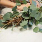How To Make A Diy Eucalyptus Winter Wreath Mohawk Home