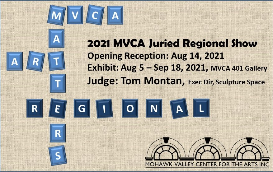 MVCA 2021 Juried Regional Exhibition