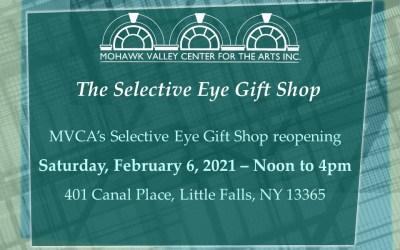 MVCA's Selective Eye Reopens – Feb 6th