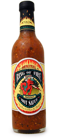 M&D Ring Of Fire Hot Sauce