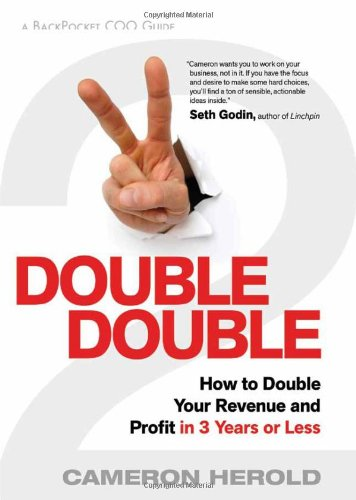 How to double your revenue and profit in 3 years or less