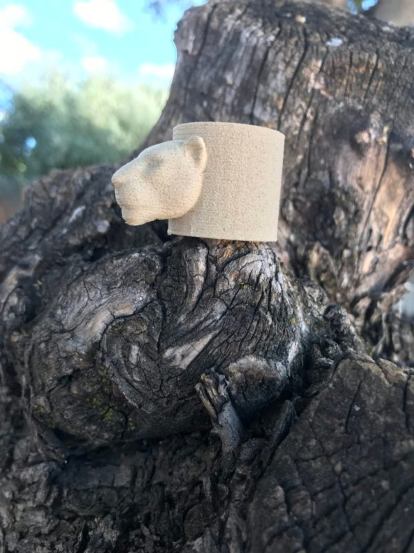 Tocho madera 3D Bagheera