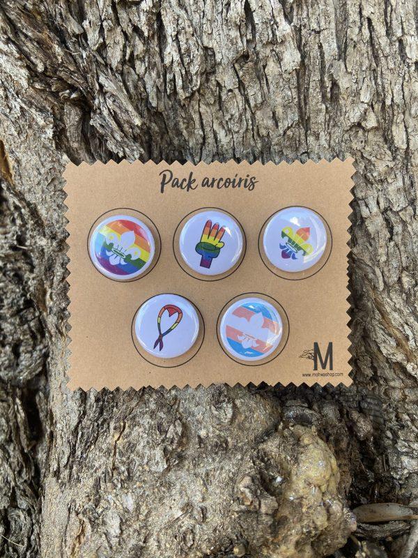 Pack arcoíris