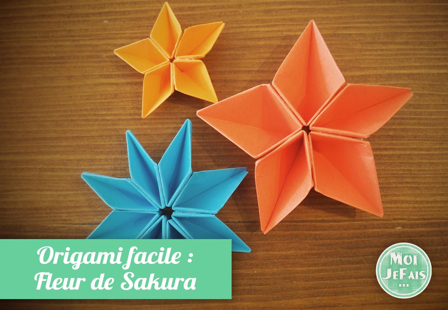 Diy Comment Faire Une Fleur En Origami