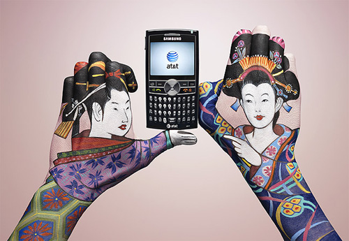 Guido Danieles AT&T Hand Paintings