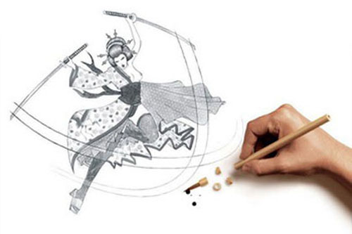 Creative Drawings Illusion Collection