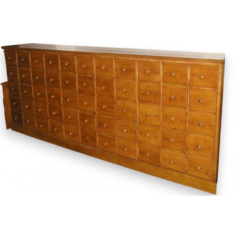meuble de pharmacie a 55 tiroirs
