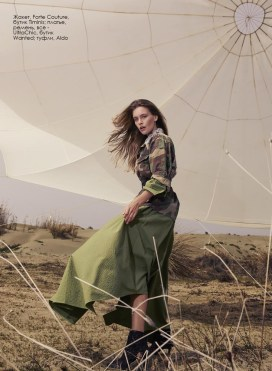 Jacket, Forte Couture, Timinis boutique; dress, belt, all - UltraChic, Wanted boutique; shoes, Aldo